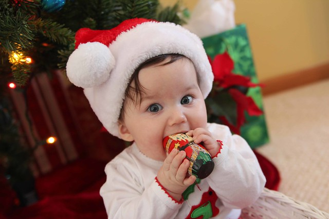 Avery's first Christmas