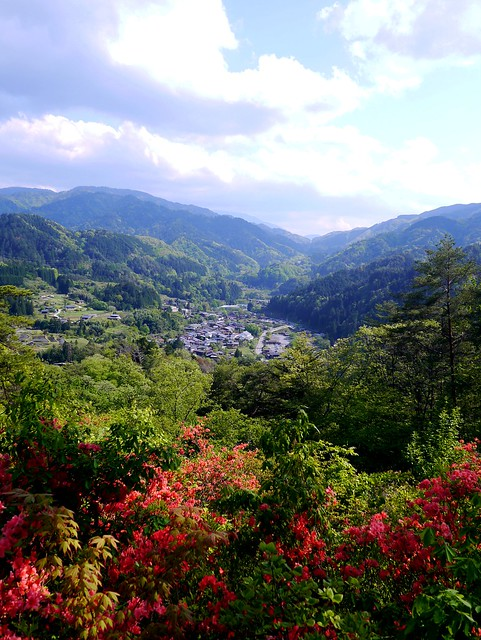 View from Tsumago Castle