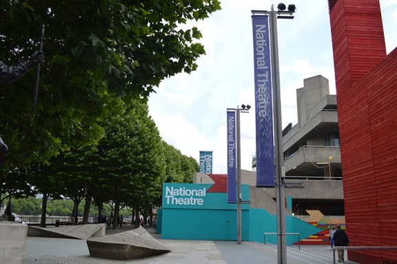 entrance to the National Theatre
