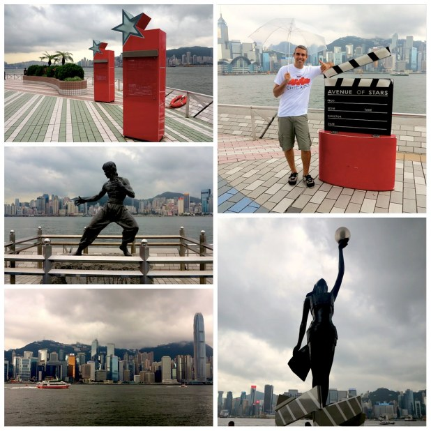 Avenida de las Estrellas Hong Kong