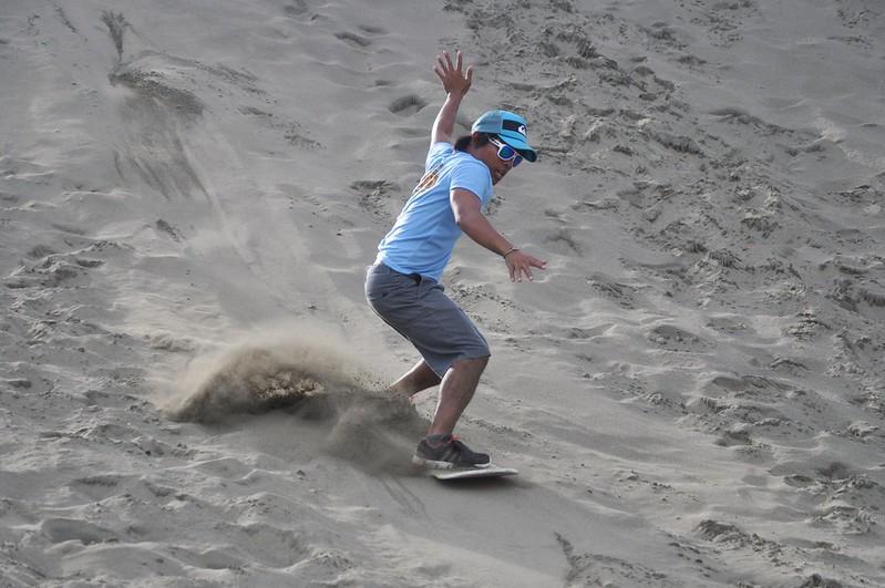 La Paz Sand Surfing