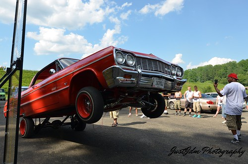 westside lowriders red hopper impala (39)