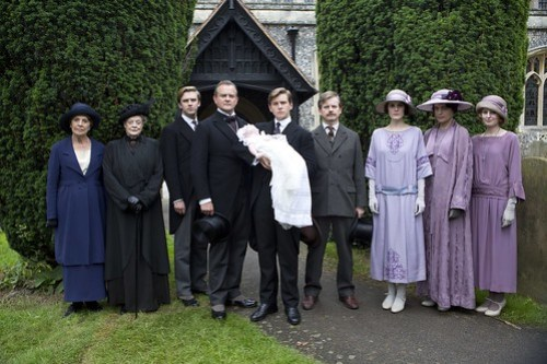 Downton Abbey - photo groupe