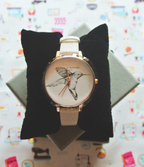 Olivia Burton Mink Hummingbird Watch @ Twisted Time | VIPXO