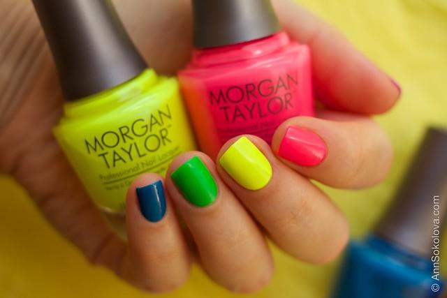 05 Morgan Taylor Neon Lights nails