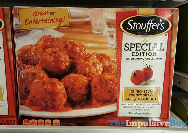 Stouffer's Special Edition Entertaining Collection Italian-Style Meatballs & Zesty Marinara