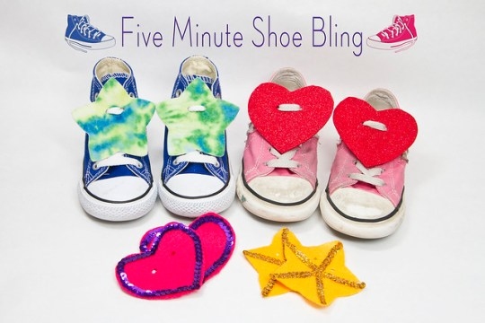 Five-Minute Shoe Bling