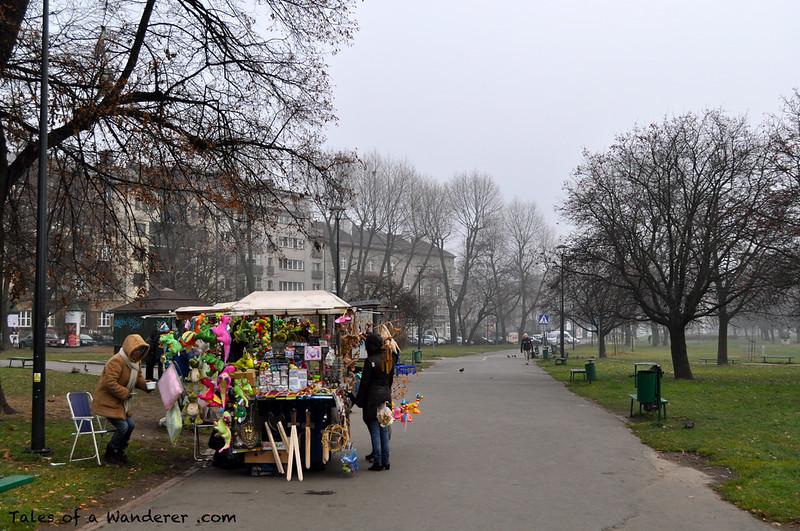 KRAKÓW - Bulwar Czerwieński
