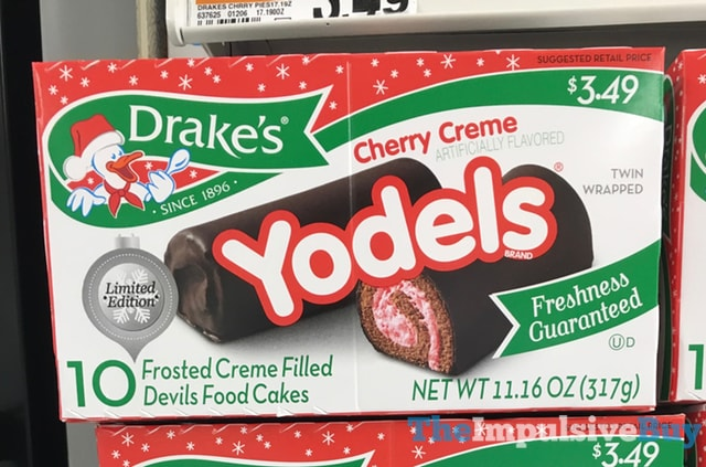 Drake's Limited Edition Cherry Creme Yodels