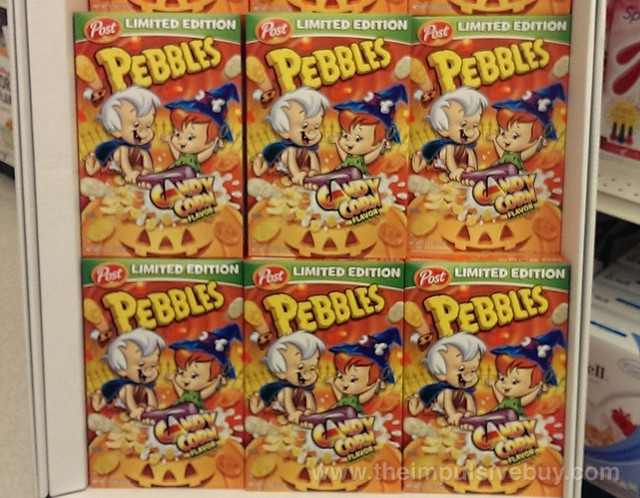 Post Limited Edition Candy Corn Pebbles Cereal