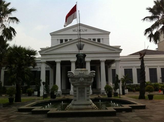 Museum Nasional (Tampak Depan)