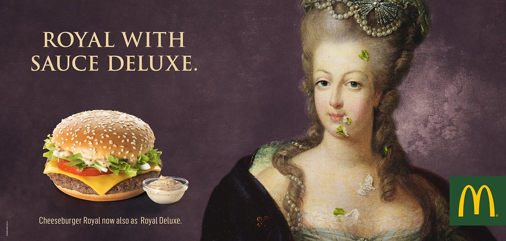 McDonald's - Royal with Sauce Deluxe