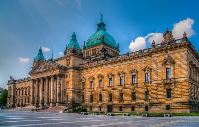Leipzig, Bundesverwaltungsgericht am Simsonplatz-1