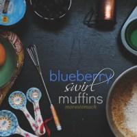 blueberry swirl muffins - dairy free