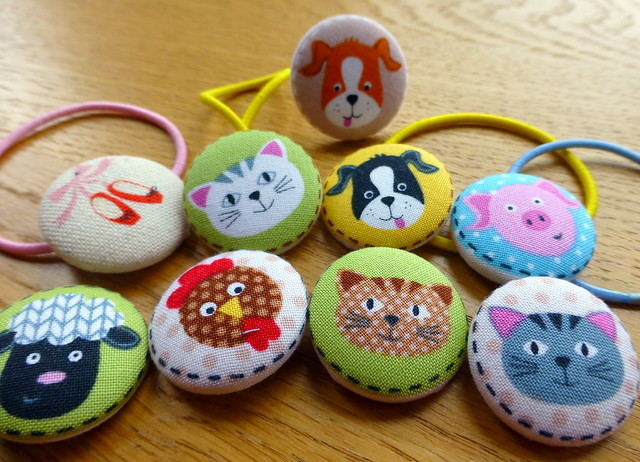 Self Covered Buttons for Fabric Yard