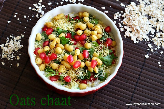 Oats- Chaat