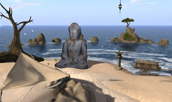 Buddha on Binemist