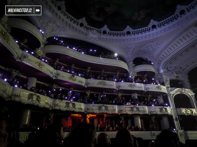 Electrodomésticos en el Teatro Municipal de Santiago celebrando sus 30 años de carrera -31.07.2014-