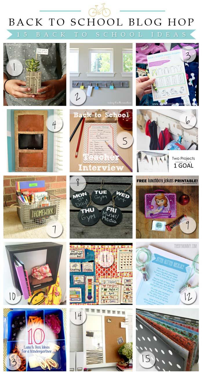 15 fantastic back to school ideas!!