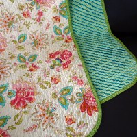 A hand-cut chenille blanket: Tips from a newbie