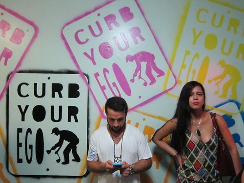 21st Precinct Street Art Exhibit: Curb Your Ego