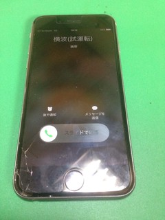 200_iPhone6Sのフロントパネルガラス割れ