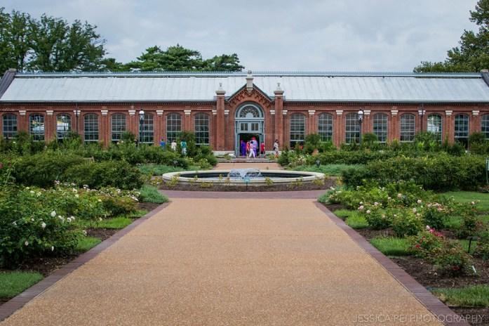 greenhouse botanical gardens st. louis missouri