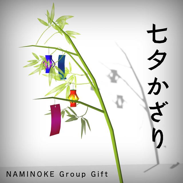 NAMINOKE GROUP GIFT JULY 2014