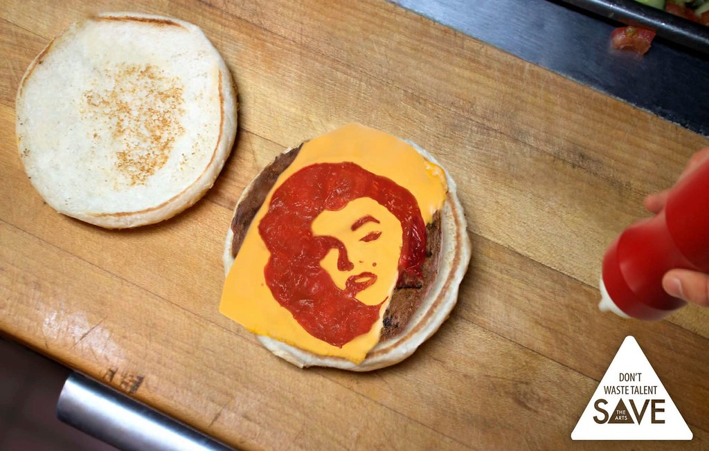 """Save the Arts - Don""""t Waste Talents Marilyn"""