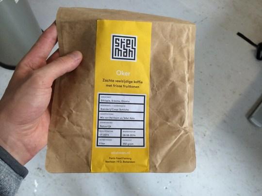 Stielman coffee packaging