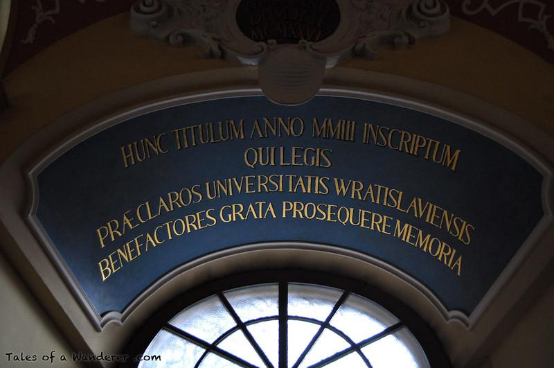 WROCŁAW - Gmach główny Uniwersytetu Wrocławskiego