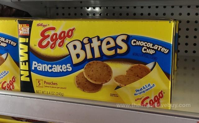 Kellogg's Eggo Bites Chocolatey Chip Pancakes