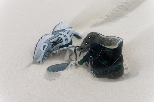 Strandgut  Schuhe