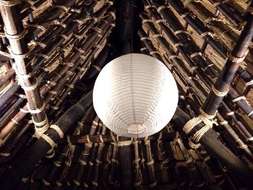 天井は、こんな感じですよ!