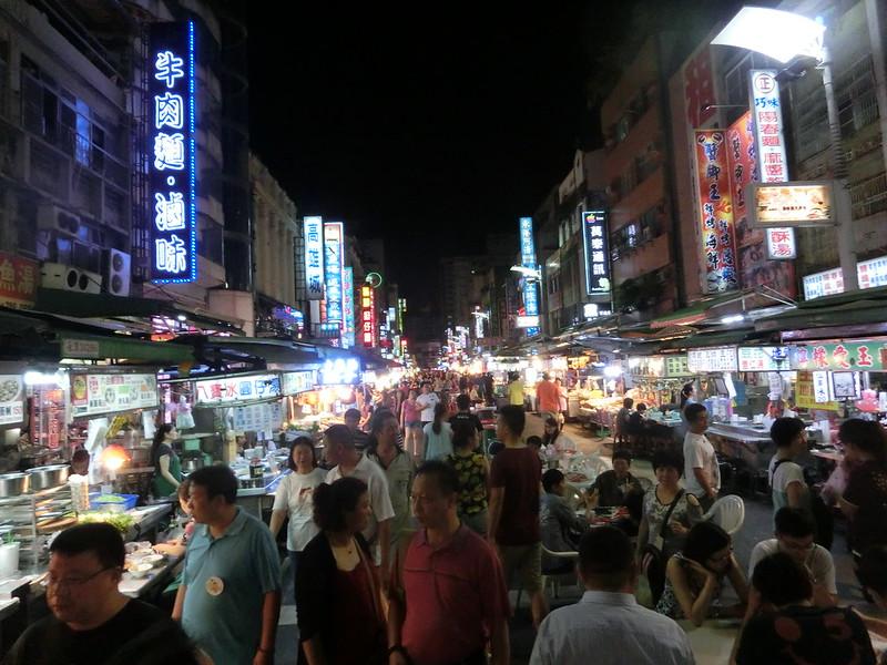 観光夜市の風景