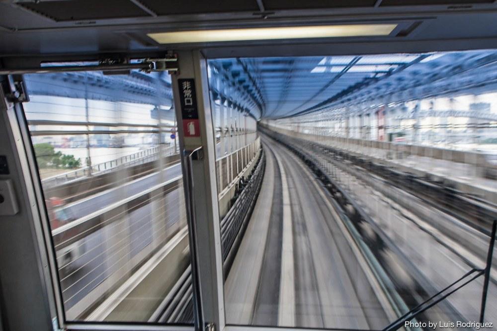 La línea Yurikamome de Tokio-3