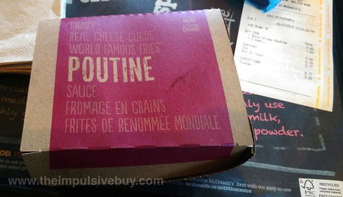 McDonald's Spicy Buffalo Chicken Poutine 1