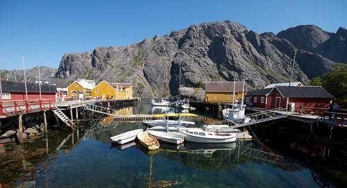 Utrolig flott i Nusfjord