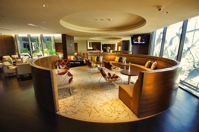 club lounge crowne plaza changi airport