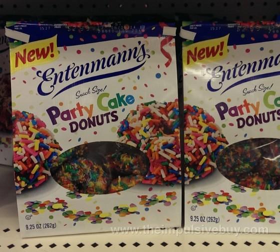 Entenmann's Party Cake Donuts