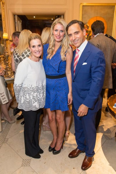 Lisa Goldman, Nicky Hilton, Dr. Alan Malouf