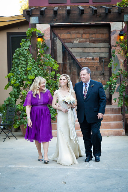 Kimmy_down aisle with parents
