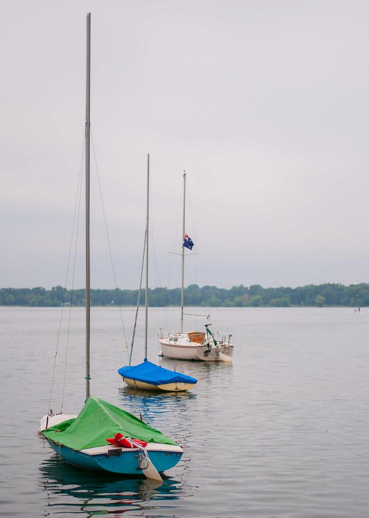 Boats on Calhoun