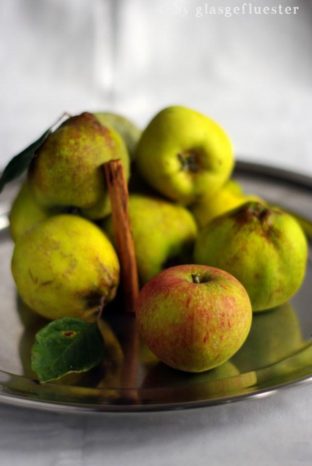 Quitten Apfel Marmelade mit Zimt by Glasgeflüster 1 klein