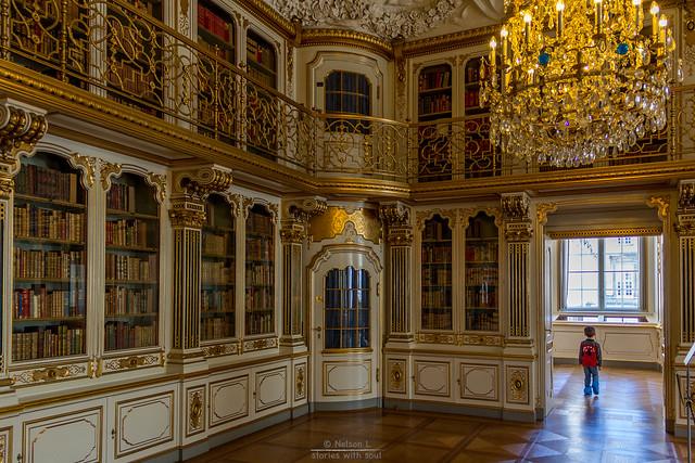 the amazing library of (Denmark #38 Copenhagen, Christiansborg Slot)
