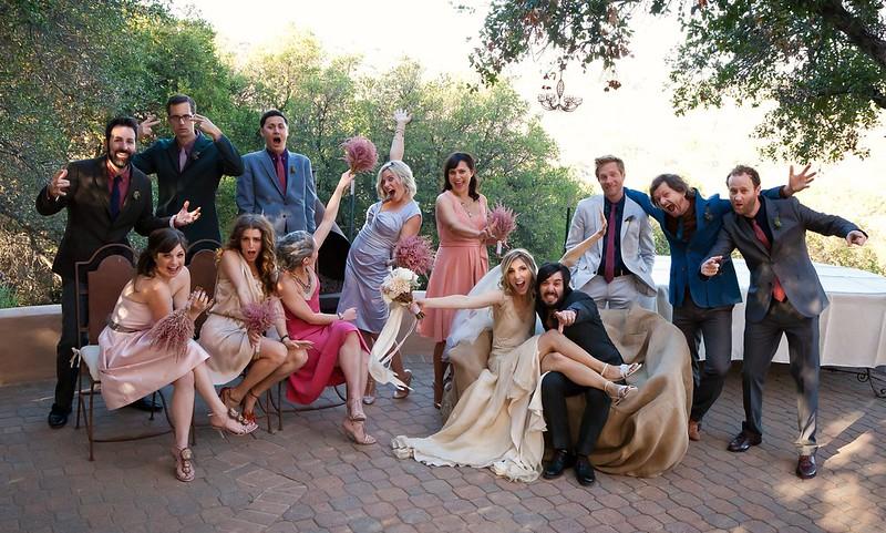 wedding party cray cray