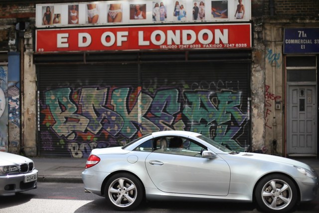 Brick Lane shop front