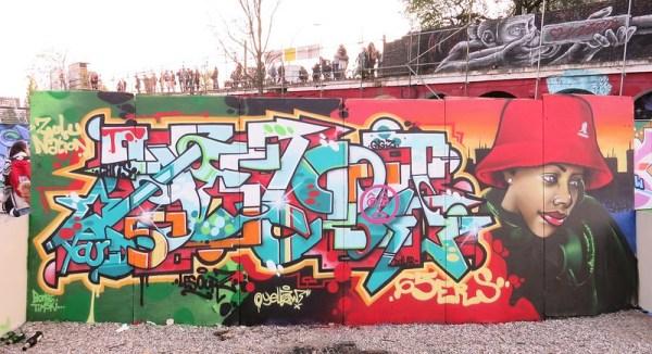 Yellow Yard 5 graffiti jam berlin