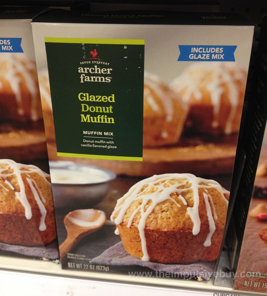 Archer Farms Glazed Donut Muffin Muffin Mix