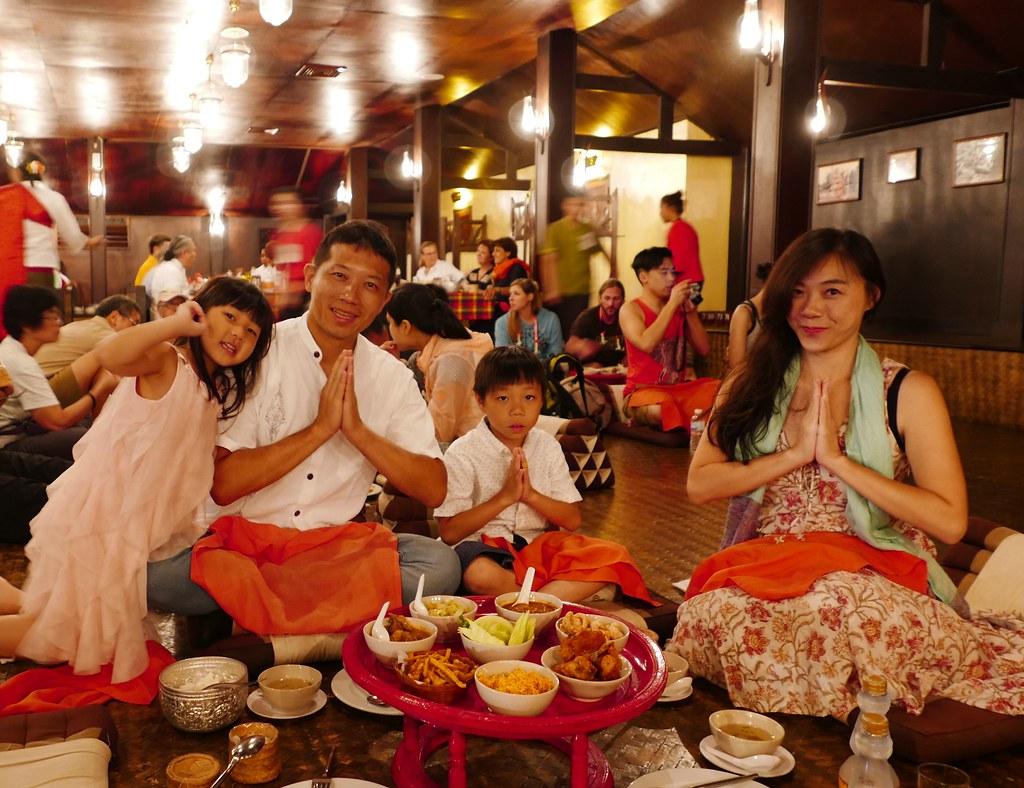 清邁康托克(Khantoke)蘭納帝國的饗宴